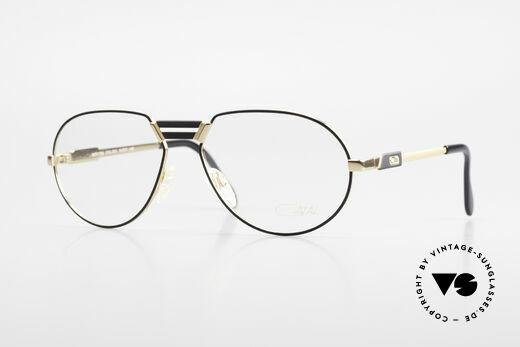 Cazal 739 Extraordinary Eyeglasses Details