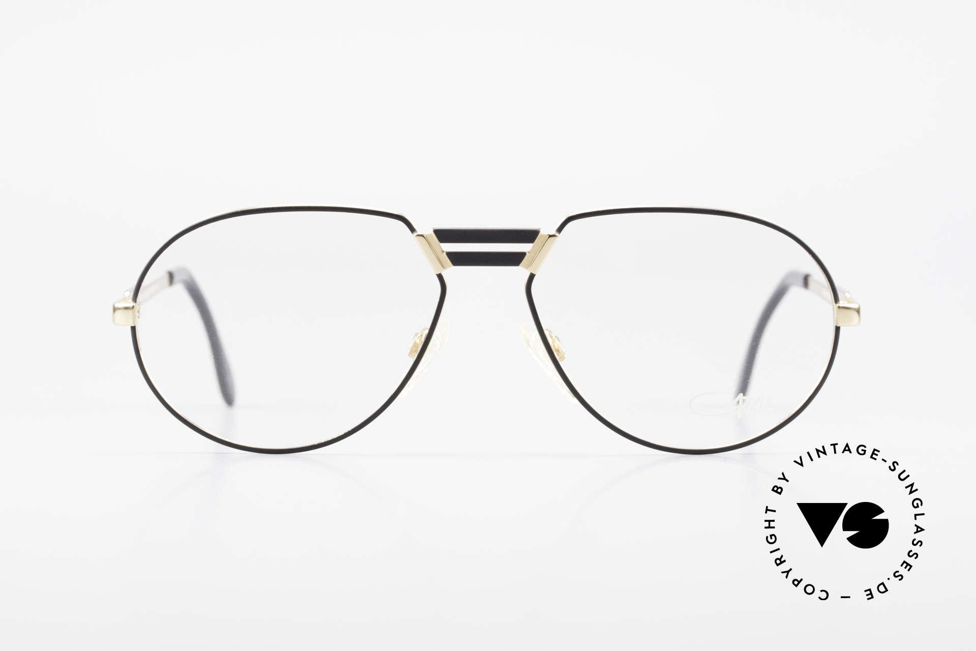"Cazal 739 Extraordinary Eyeglasses, slightly ""teardrop shaped"" frame by CAri ZALloni, Made for Men"