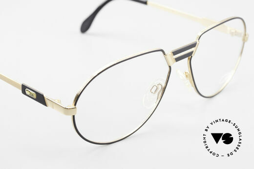 Cazal 739 Extraordinary Eyeglasses, demo lenses can be replaced optionally, size 61/17, Made for Men