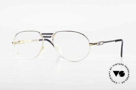 Cazal 739 Gold Plated Eyeglass-Frame Details