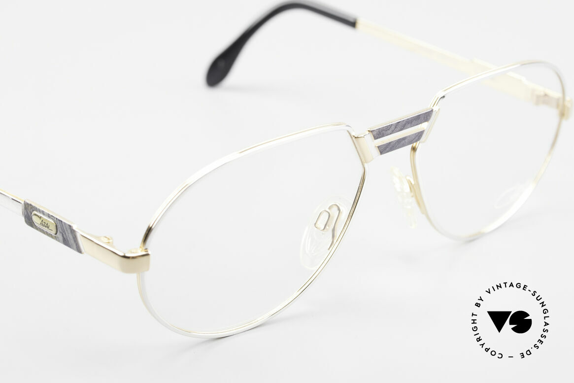 Cazal 739 Gold Plated Eyeglass-Frame, NO retro specs, but a genuine old vintage original, Made for Men