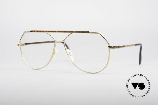 Cazal 733 80's Men's Aviator Glasses Details