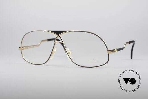 Cazal 737 80's vintage Men's Glasses Details