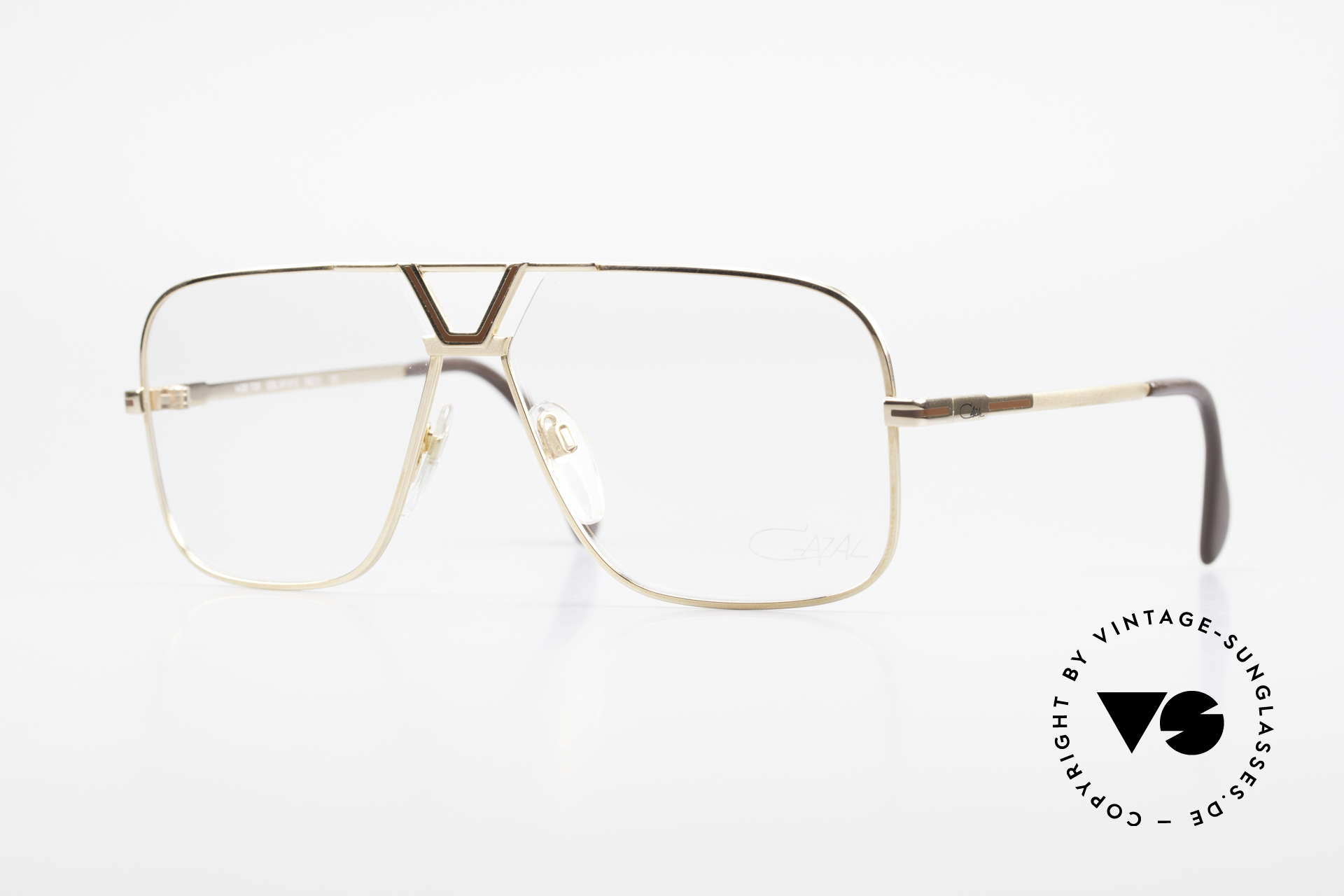 Cazal 725 Rare Vintage 1980's Eyeglasses, classic Cazal eyeglasses for men from 1983, Made for Men
