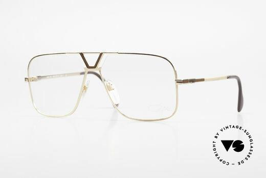 Cazal 725 Rare Vintage 1980's Eyeglasses Details