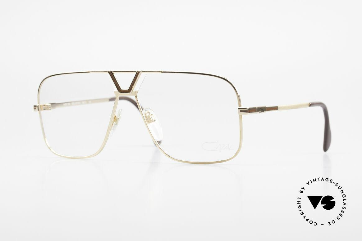 Cazal 725 Rare Vintage 1980's Eyeglasses, classic Cazal eyeglasses for men from 1983, Made for Men
