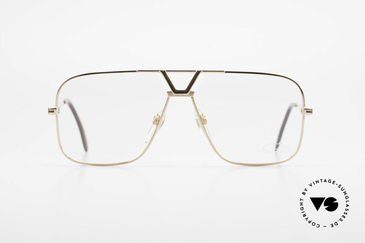 Cazal 725 Rare Vintage 1980's Eyeglasses, finest quality from W.Germany (size 59°13), Made for Men