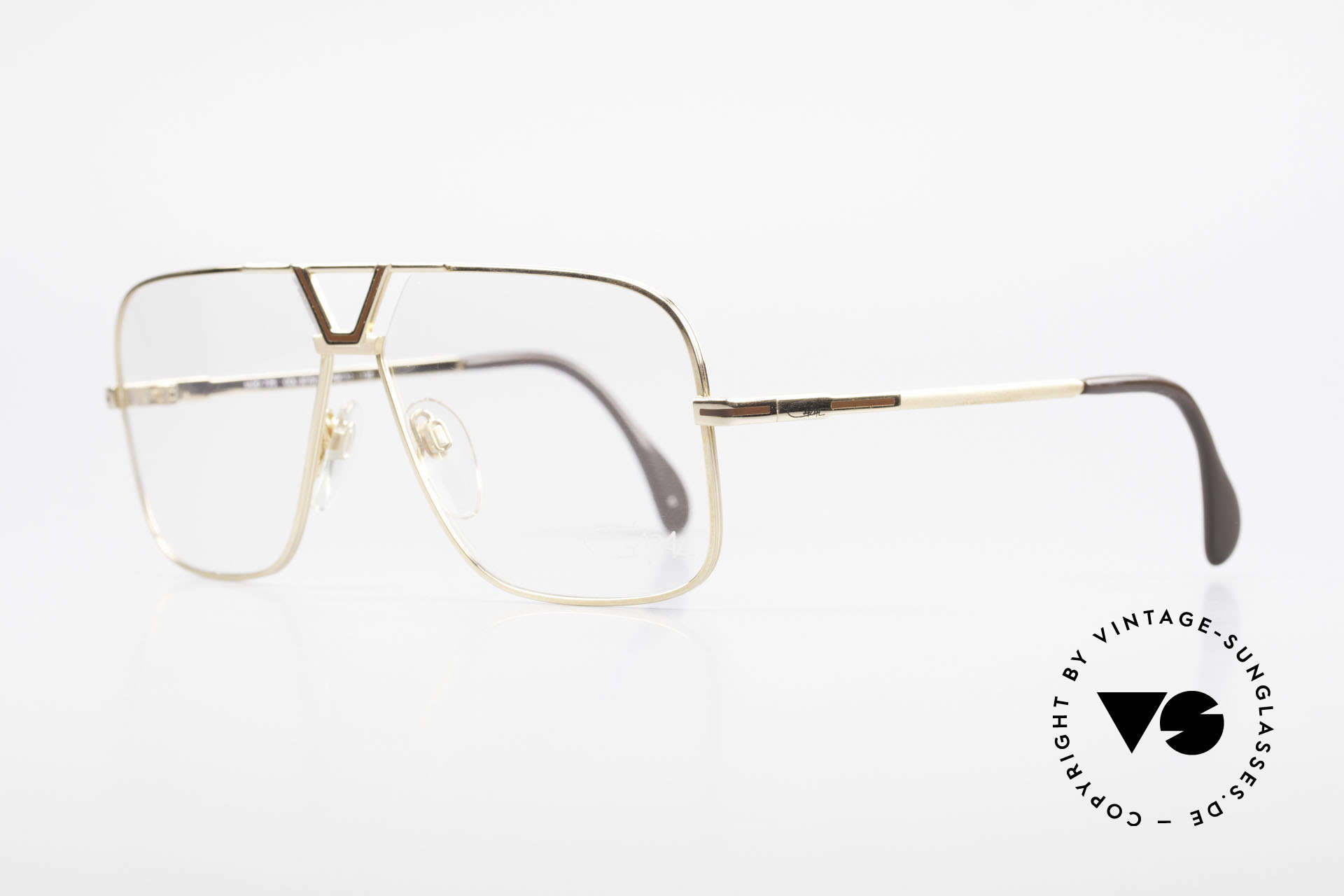 Cazal 725 Rare Vintage 1980's Eyeglasses, 'aviator design' interpreted by CAri ZALloni, Made for Men