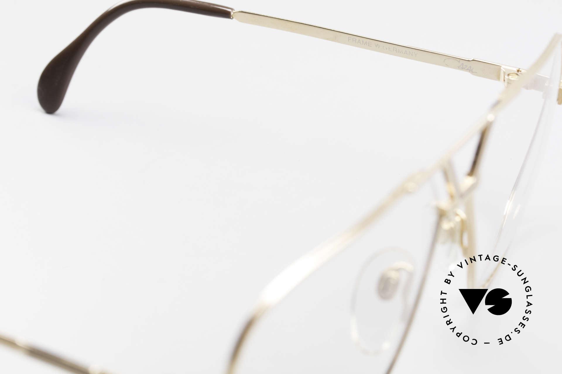 Cazal 725 Rare Vintage 1980's Eyeglasses, NO retro fashion, but original 80's commodity!, Made for Men