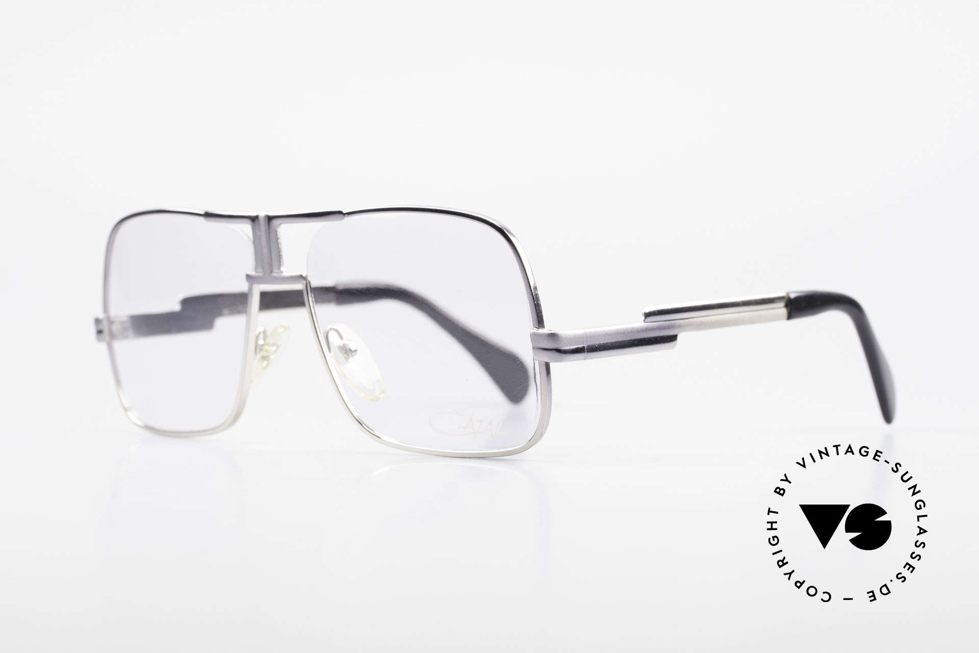 Cazal 701 Ultra Rare CAzal 70's Glasses, unusual and well balanced frame finish, size 56/18, Made for Men