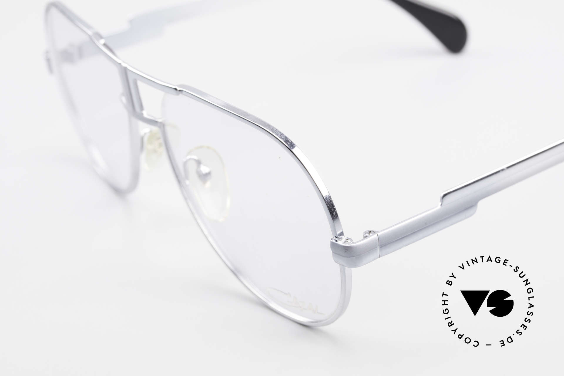 Cazal 702 Ultra Rare 70's Cazal Glasses, seamless change from gray to silver; simply unique, Made for Men