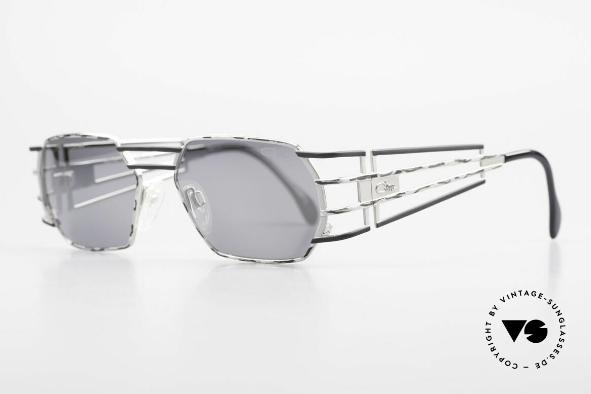 Cazal 980 Mirrored Designer Sunglasses, exquisite 90's craftsmanship (made in Passau, Germany), Made for Men and Women