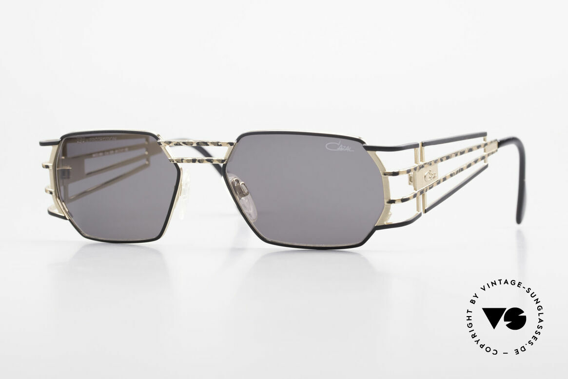 Cazal 980 Rare 90's Designer Sunglasses, futuristic vintage CAZAL designer sunglasses from 1997, Made for Men and Women