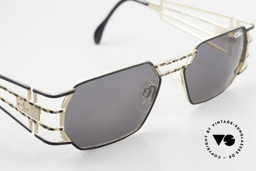 Cazal 980 Rare 90's Designer Sunglasses, with high-end Cazal sun lenses for 100% UV protection, Made for Men and Women