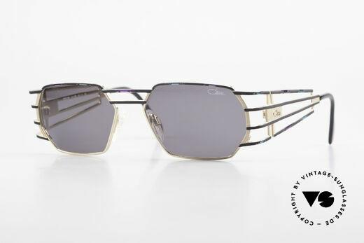 Cazal 980 90's Designer Sunglasses Unisex Details
