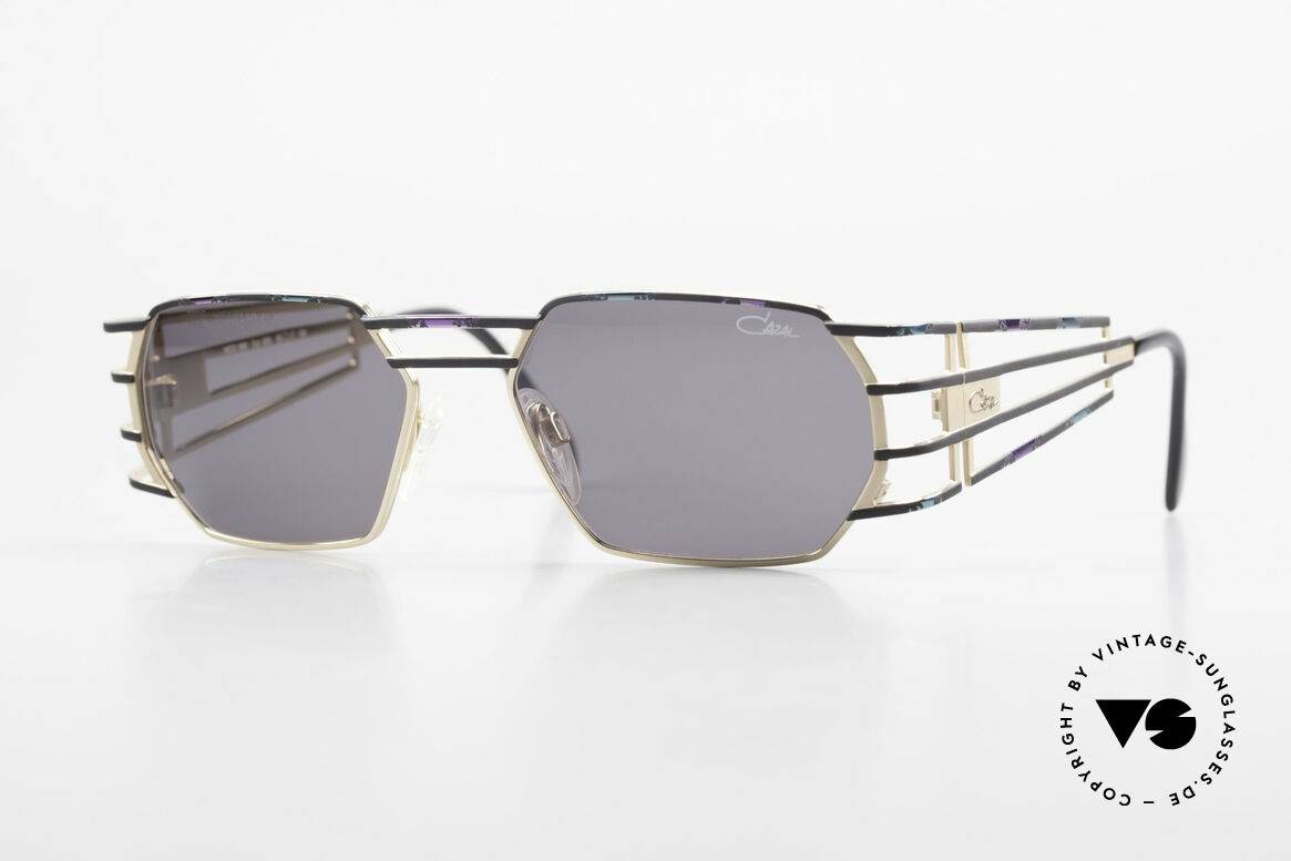 Cazal 980 90's Designer Sunglasses Unisex, futuristic vintage CAZAL designer sunglasses from 1997, Made for Men and Women