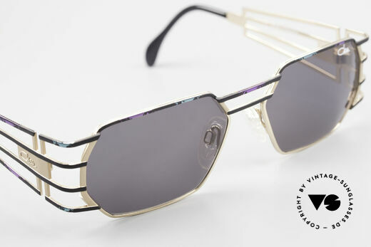 Cazal 980 90's Designer Sunglasses Unisex, with high-end Cazal sun lenses for 100% UV protection, Made for Men and Women