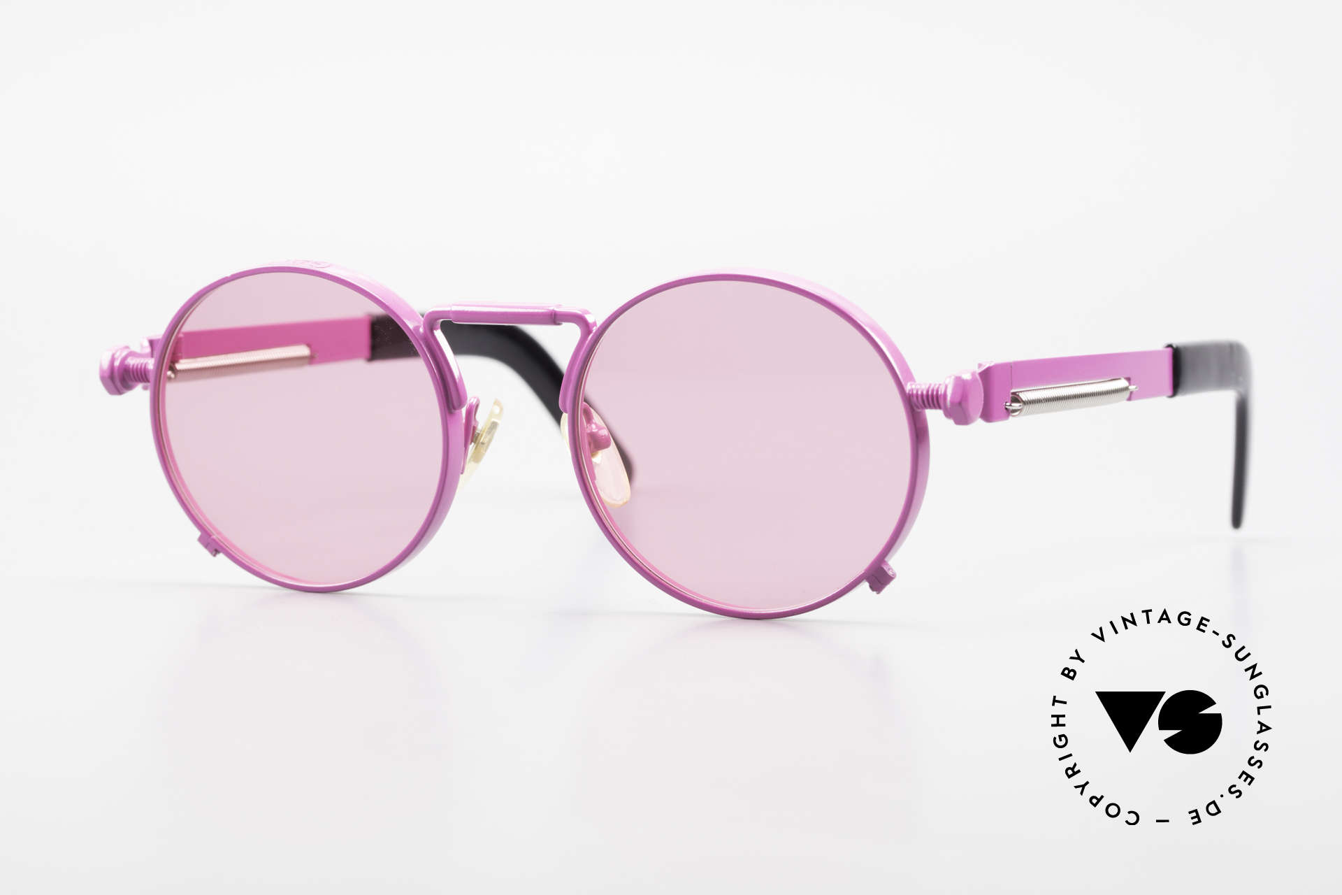 Jean Paul Gaultier 56-8171 Customized Pink Edition, valuable and creative Jean Paul Gaultier designer shades, Made for Men and Women