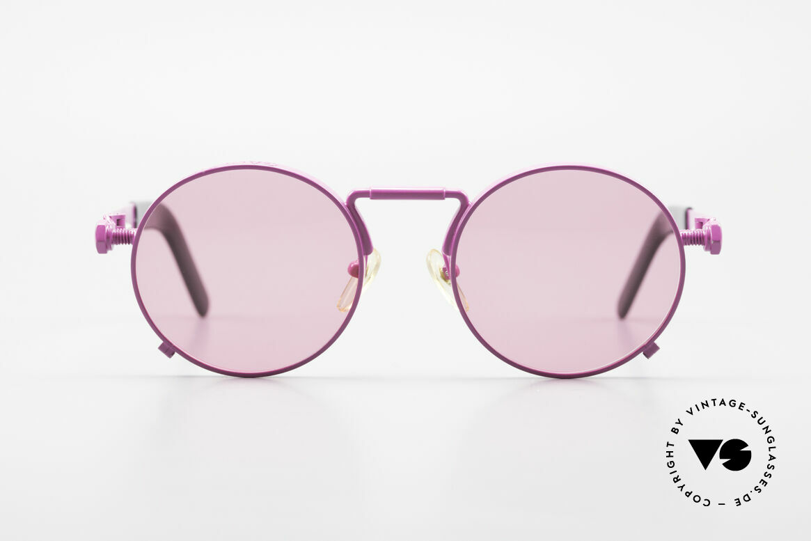 Jean Paul Gaultier 56-8171 Customized Pink Edition, 1st model of the Gaultier eyewear collection from 1991, Made for Men and Women