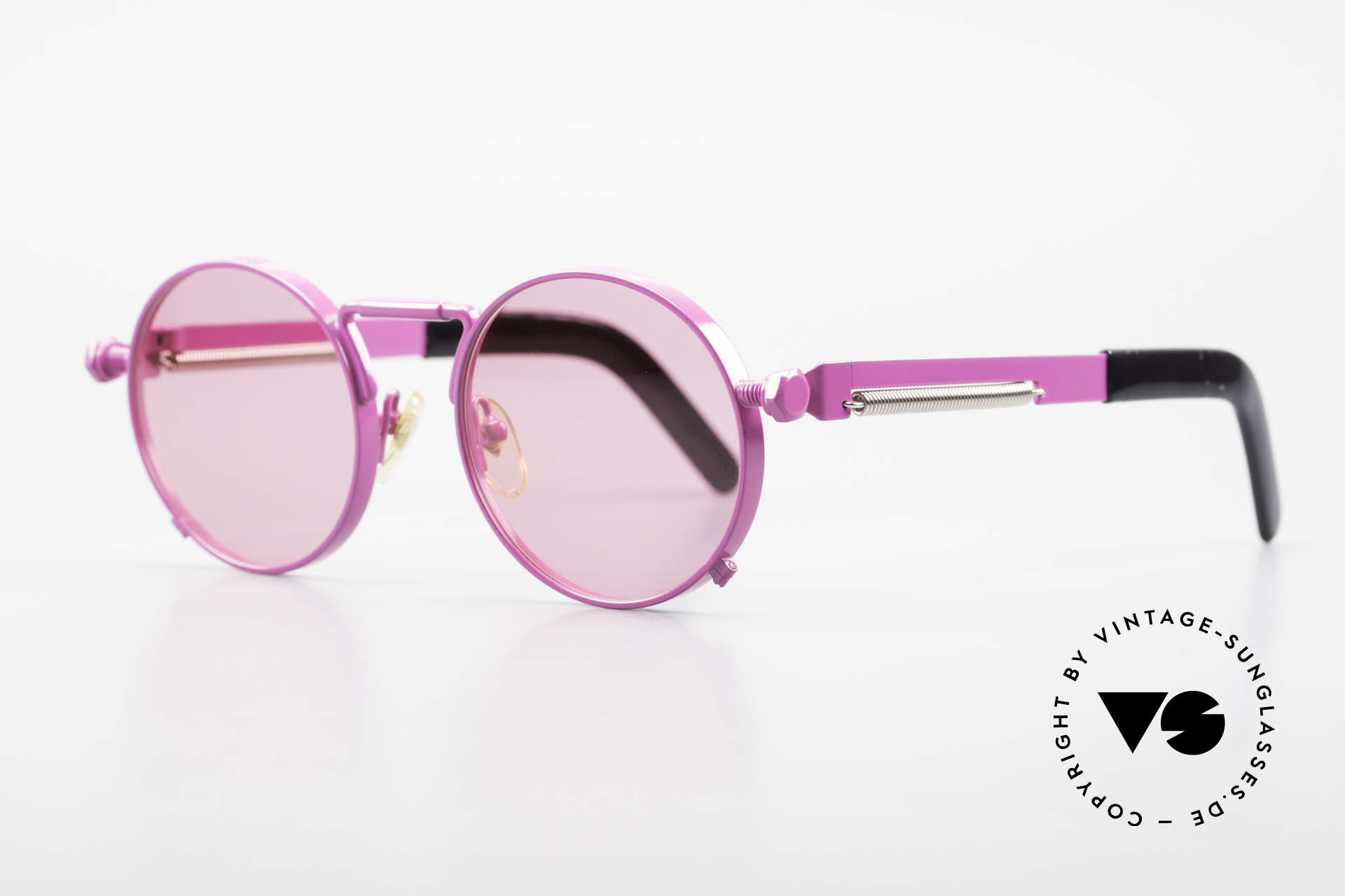 Jean Paul Gaultier 56-8171 Customized Pink Edition, incredible sturdy bridge and hinges (You must feel this!), Made for Men and Women