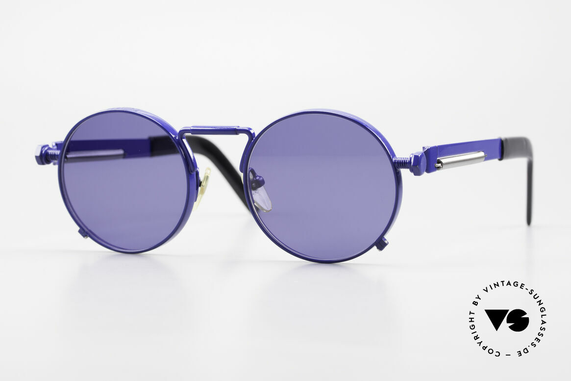 Jean Paul Gaultier 56-8171 Customized Blue Edition, valuable and creative Jean Paul Gaultier designer shades, Made for Men and Women