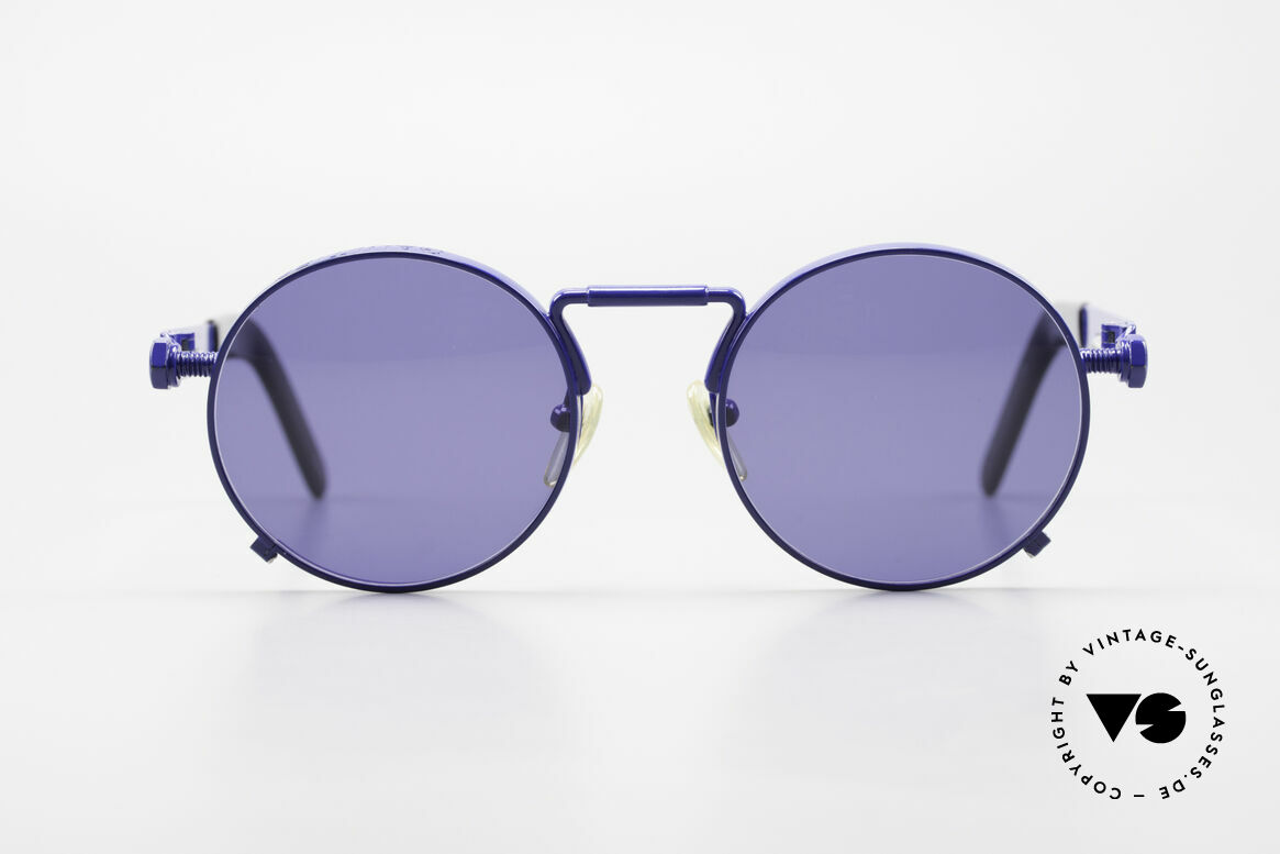 Jean Paul Gaultier 56-8171 Customized Blue Edition, 1st model of the Gaultier eyewear collection from 1991, Made for Men and Women