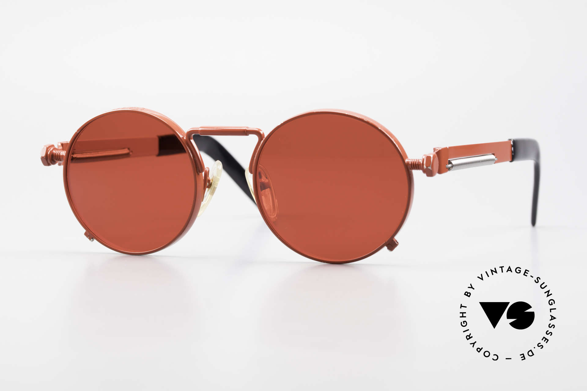 Jean Paul Gaultier 56-8171 Customized Red Edition, valuable and creative Jean Paul Gaultier designer shades, Made for Men and Women