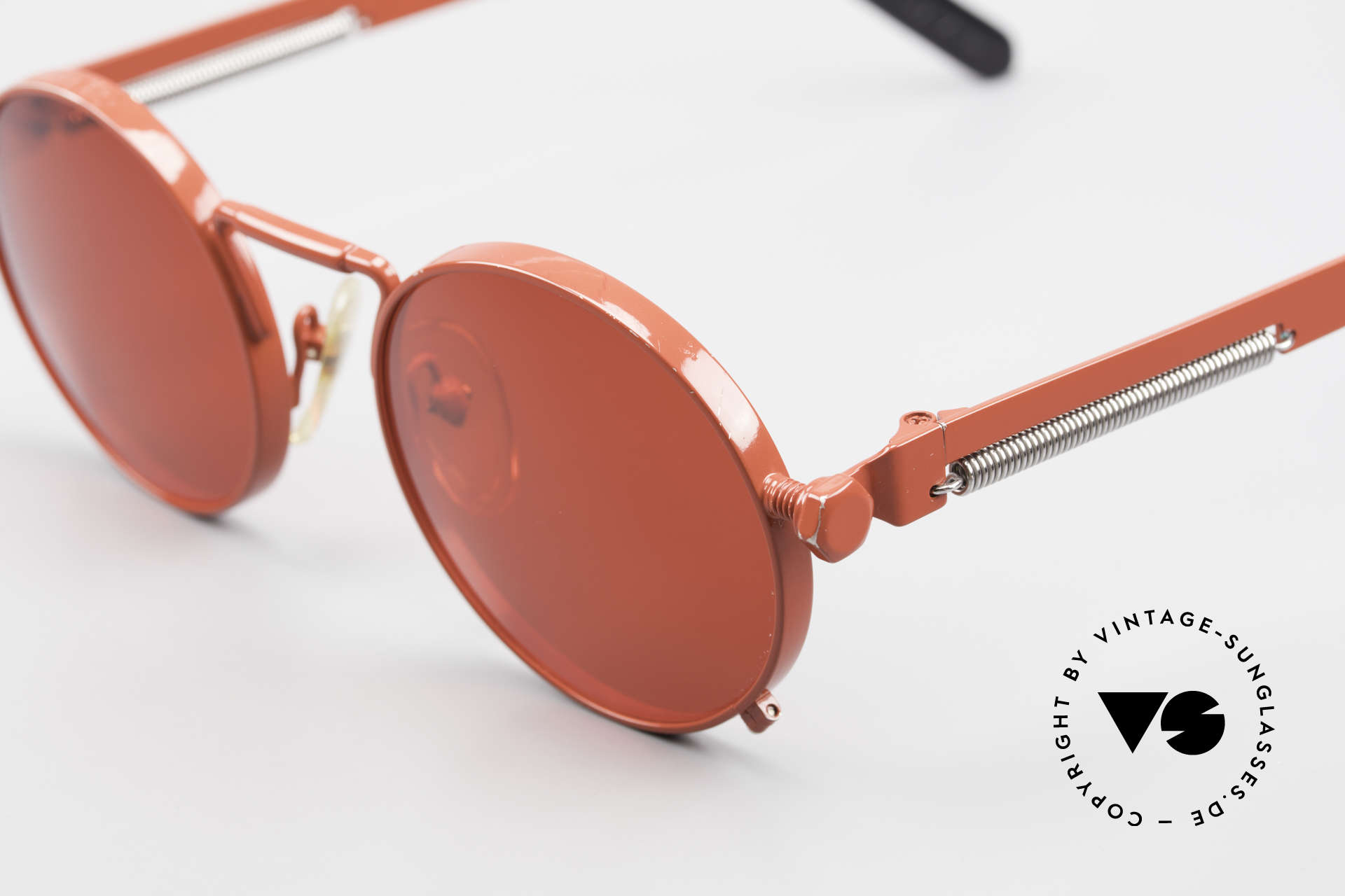 Jean Paul Gaultier 56-8171 Customized Red Edition, the most wanted Gaultier vintage sunglasses, worldwide, Made for Men and Women
