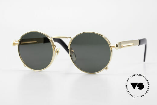Jean Paul Gaultier 56-8171 Customized Chrome Gold Details