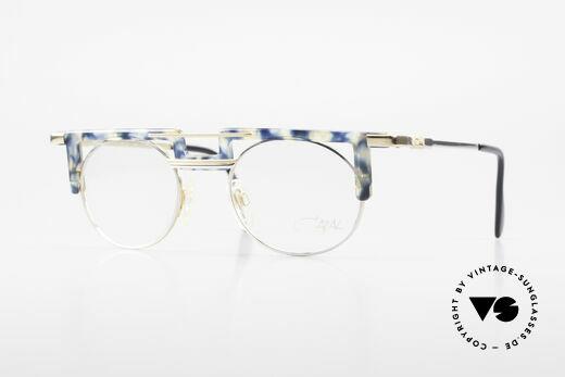 Cazal 745 Striking 90's Cazal Eyeglasses Details