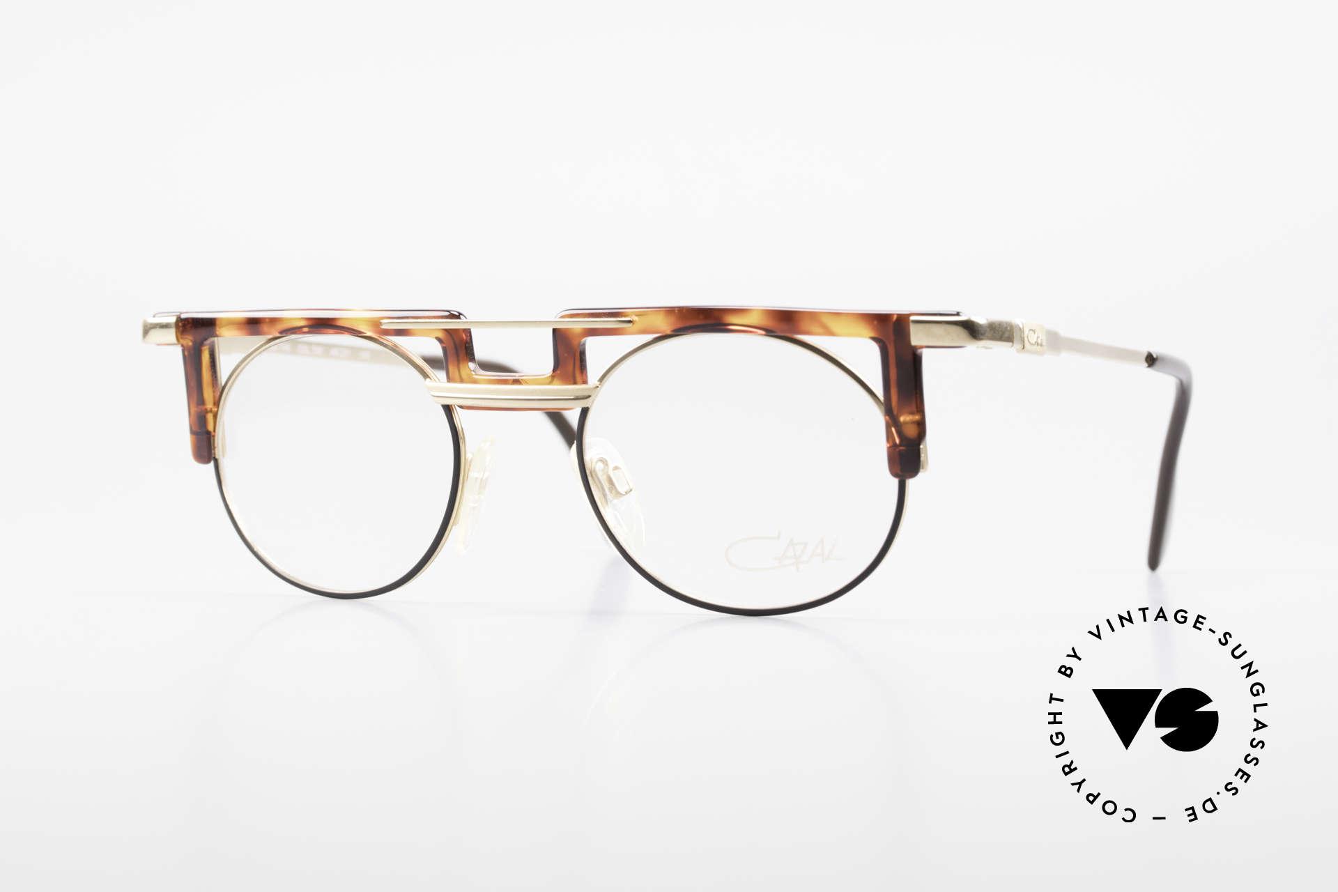 Cazal 745 Old Cazal 90's Eyeglass-Frame, striking Cazal vintage eyeglass-frame from 1991, Made for Men and Women