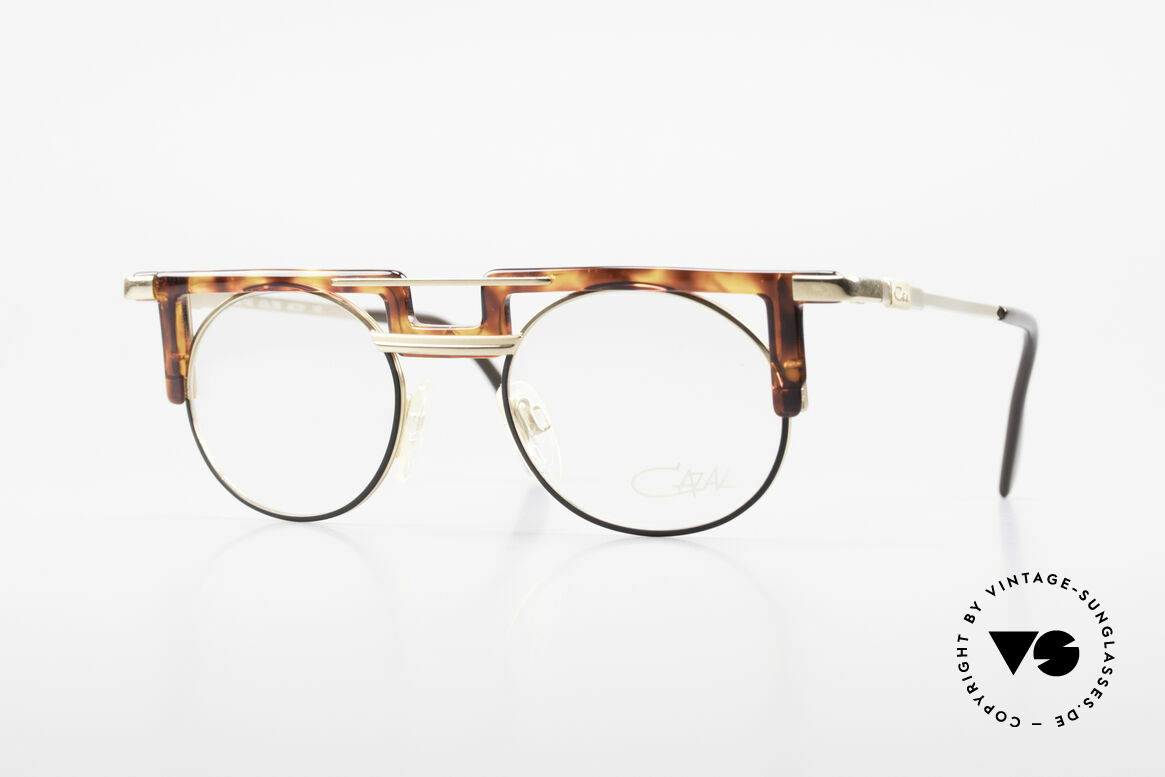 Cazal 745 Old Cazal 90's Eyeglass-Frame, striking Cazal vintage eyeglass-frame from 1991, Made for Men and Women
