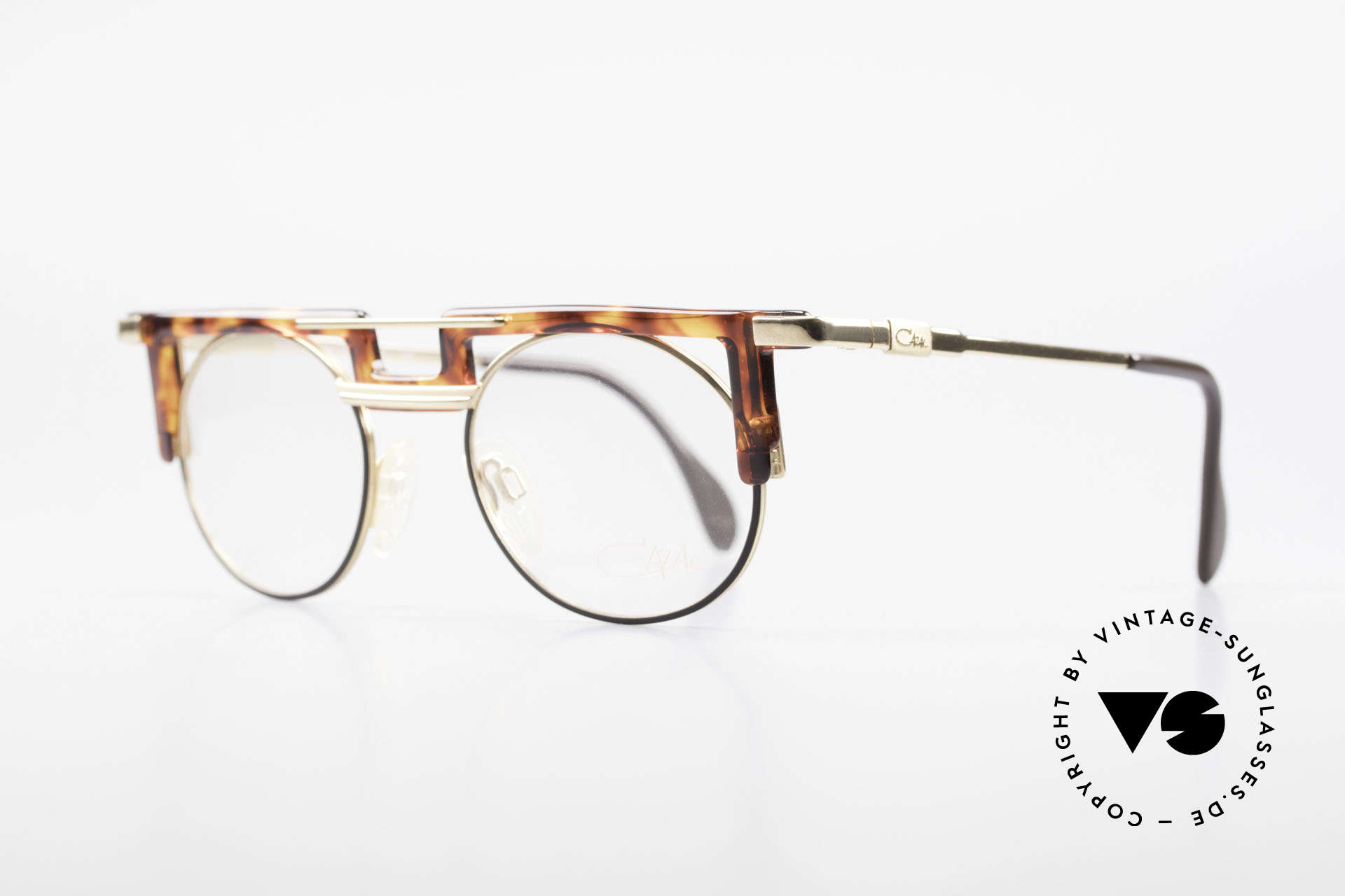 Cazal 745 Old Cazal 90's Eyeglass-Frame, eye-catching frame (just distinctive CAri ZALloni), Made for Men and Women