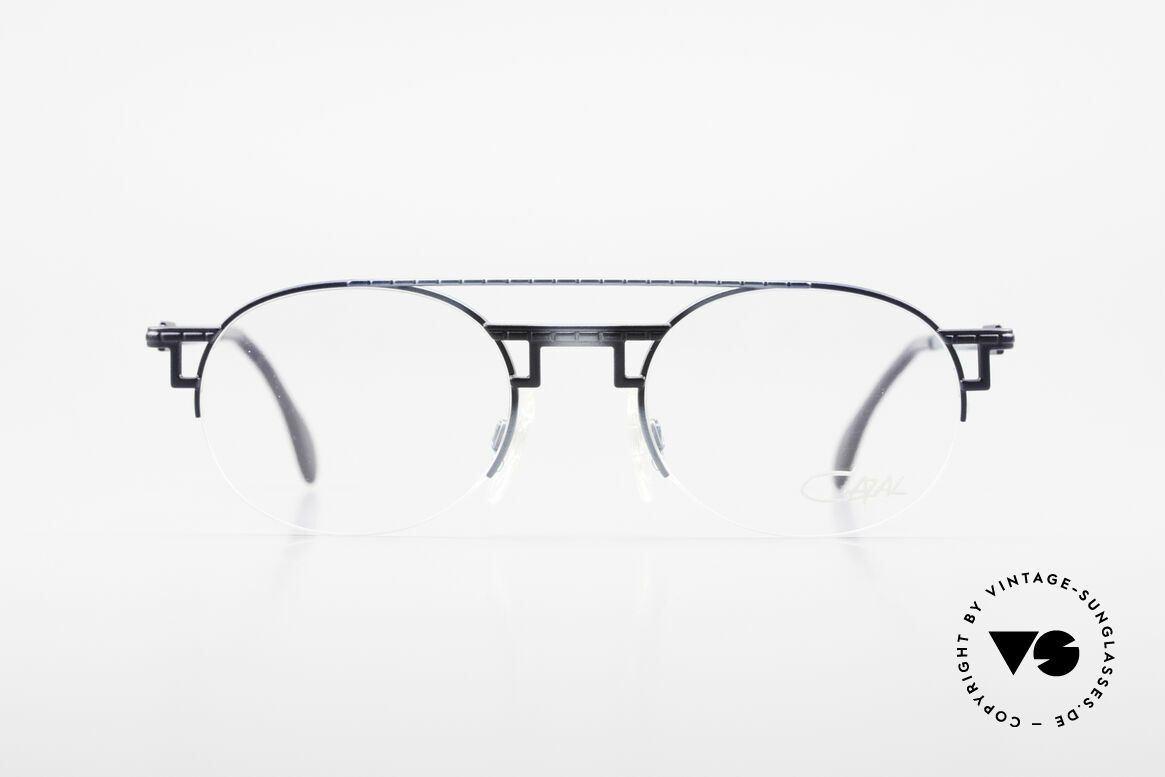 Cazal 764 True Vintage 90's Cazal Specs, supremely elegant frame finish in 'ice blue mat', Made for Men