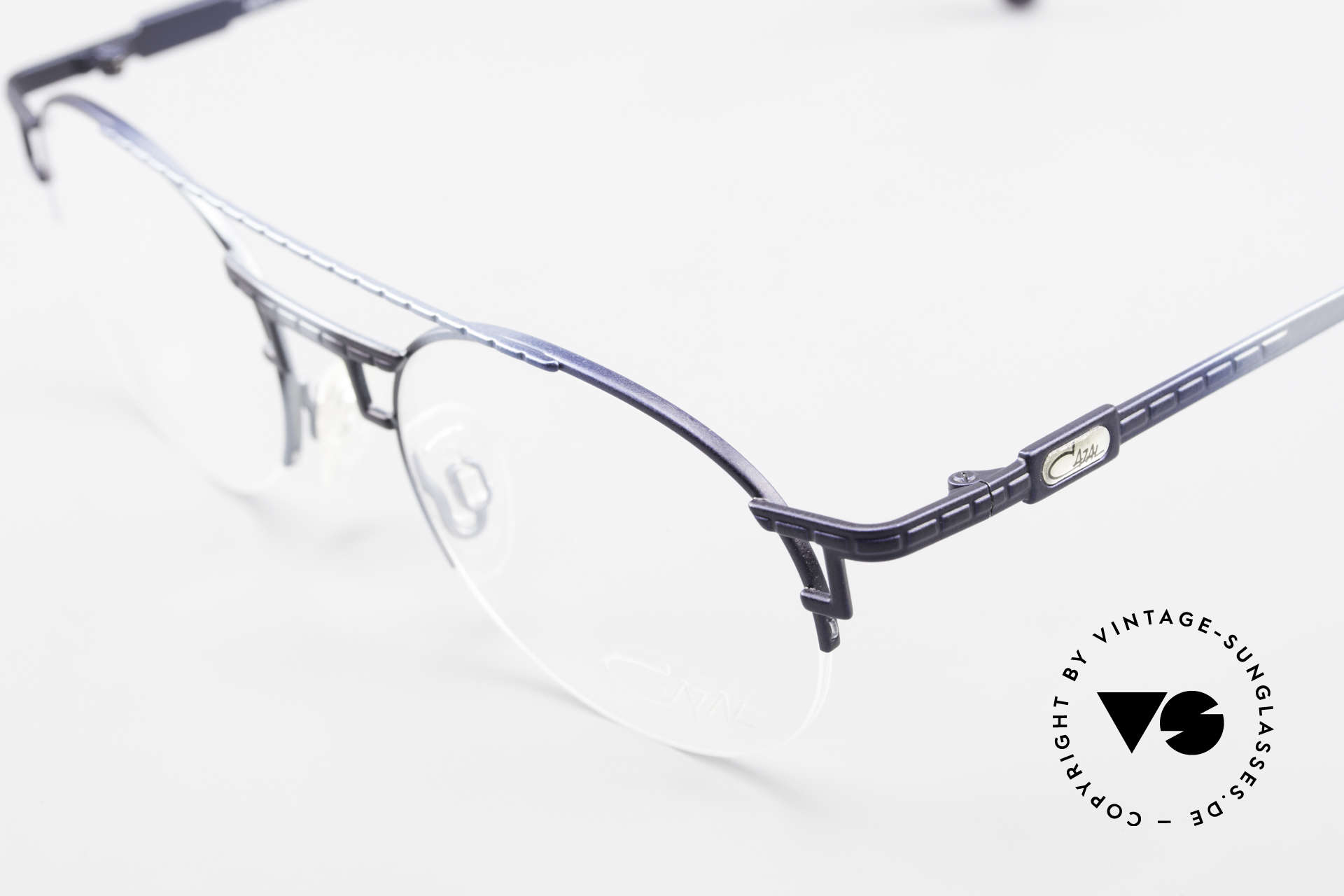 Cazal 764 True Vintage 90's Cazal Specs, semi-rimless frame and very pleasant to wear, Made for Men