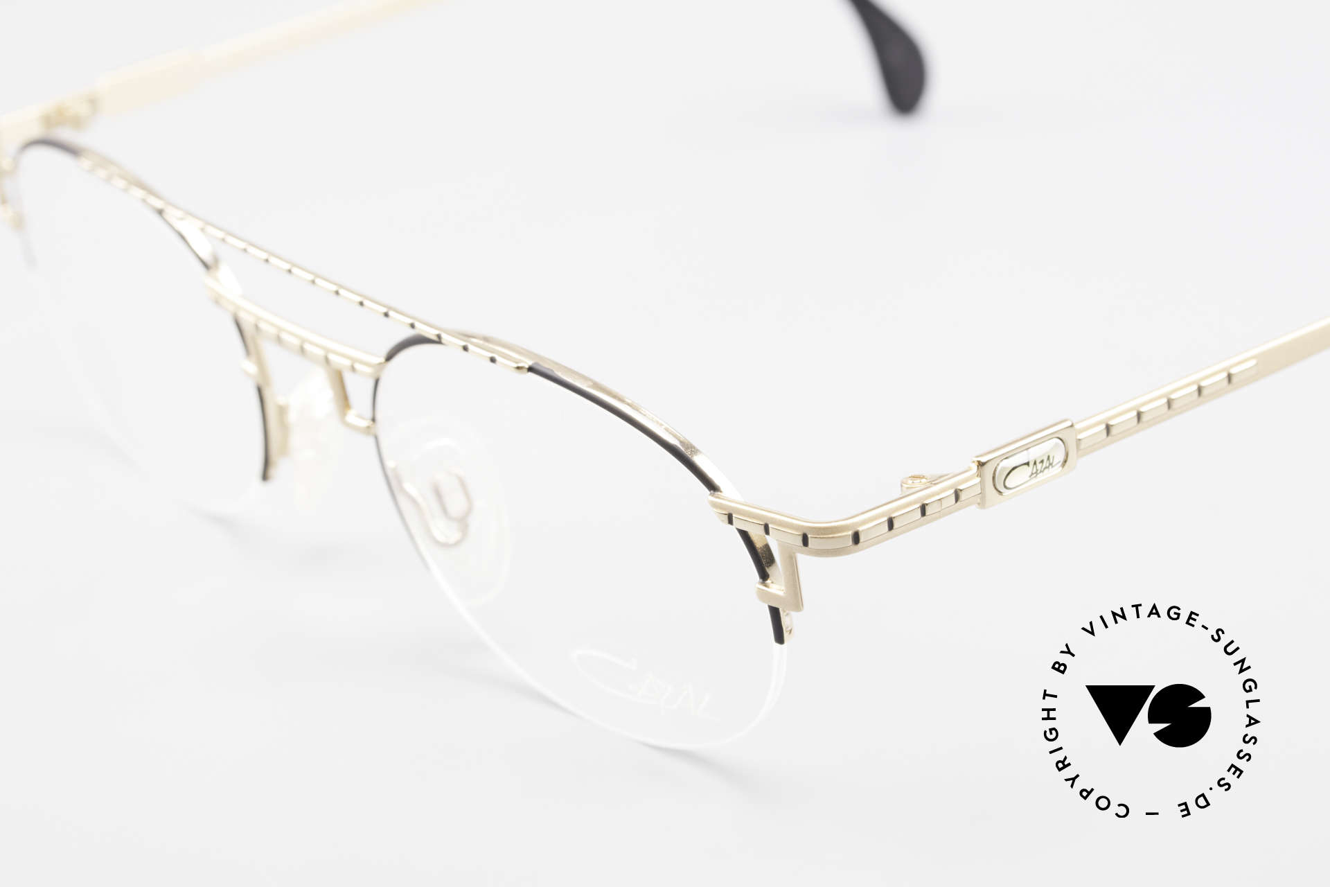 Cazal 764 True Vintage Cazal 90s Frame, semi-rimless frame and very pleasant to wear, Made for Men