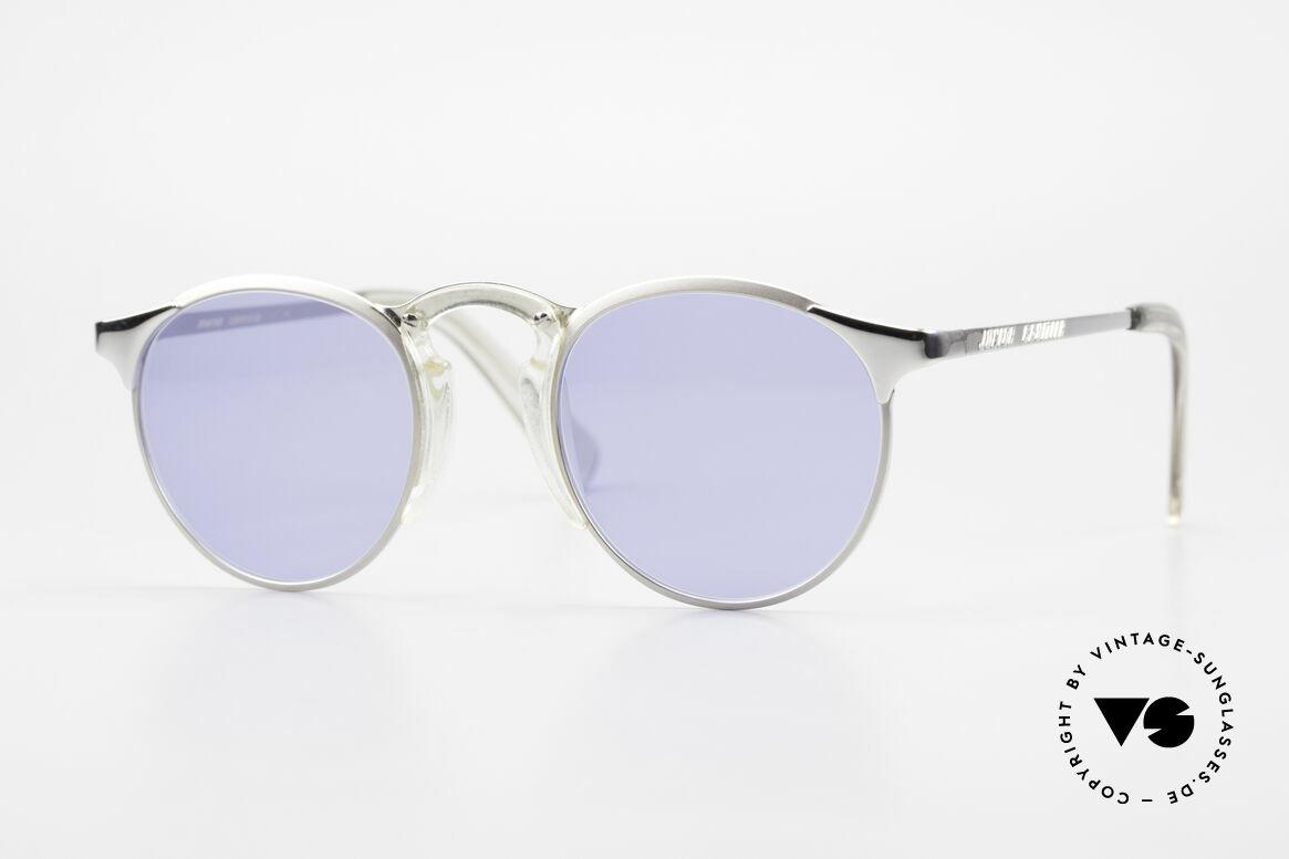 Jean Paul Gaultier 57-0174 Rare 90's JPG Panto Sunglasses, premium sunglasses of the Junior GAULTIER Series, Made for Men