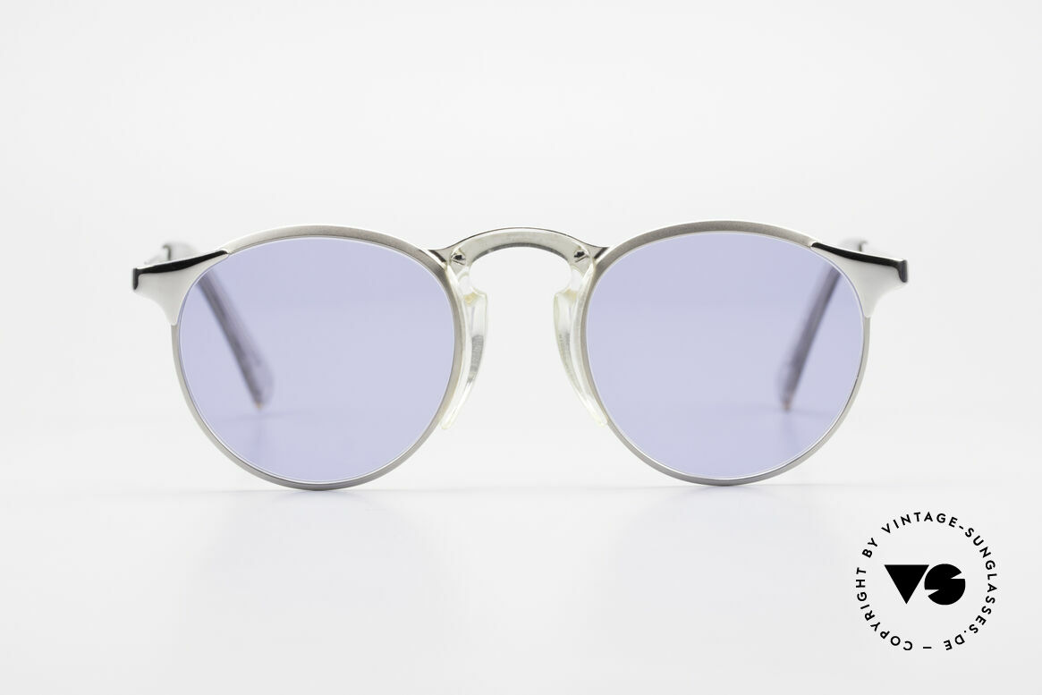 Jean Paul Gaultier 57-0174 Rare 90's JPG Panto Sunglasses, classic 'panto style' refined as unique designer piece, Made for Men