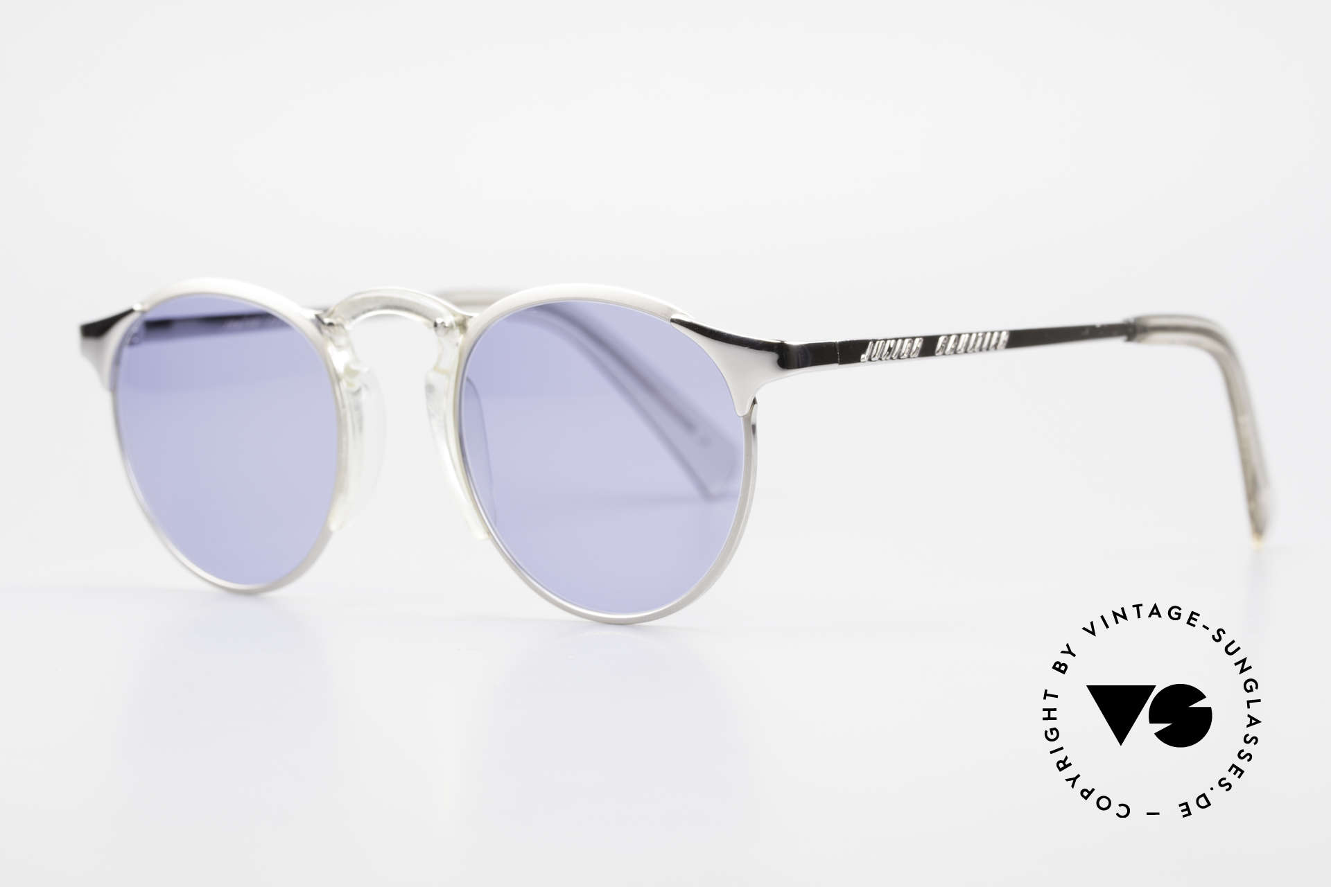 Jean Paul Gaultier 57-0174 Rare 90's JPG Panto Sunglasses, outstanding craftsmanship (frame made in JAPAN), Made for Men