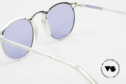 Jean Paul Gaultier 57-0174 Rare 90's JPG Panto Sunglasses, the frame (size 48-21) is made for lenses of any kind, Made for Men