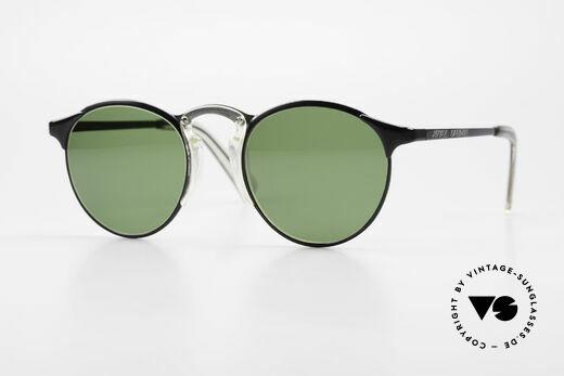Jean Paul Gaultier 57-0174 Rare 90's JPG Panto Sunglasses Details