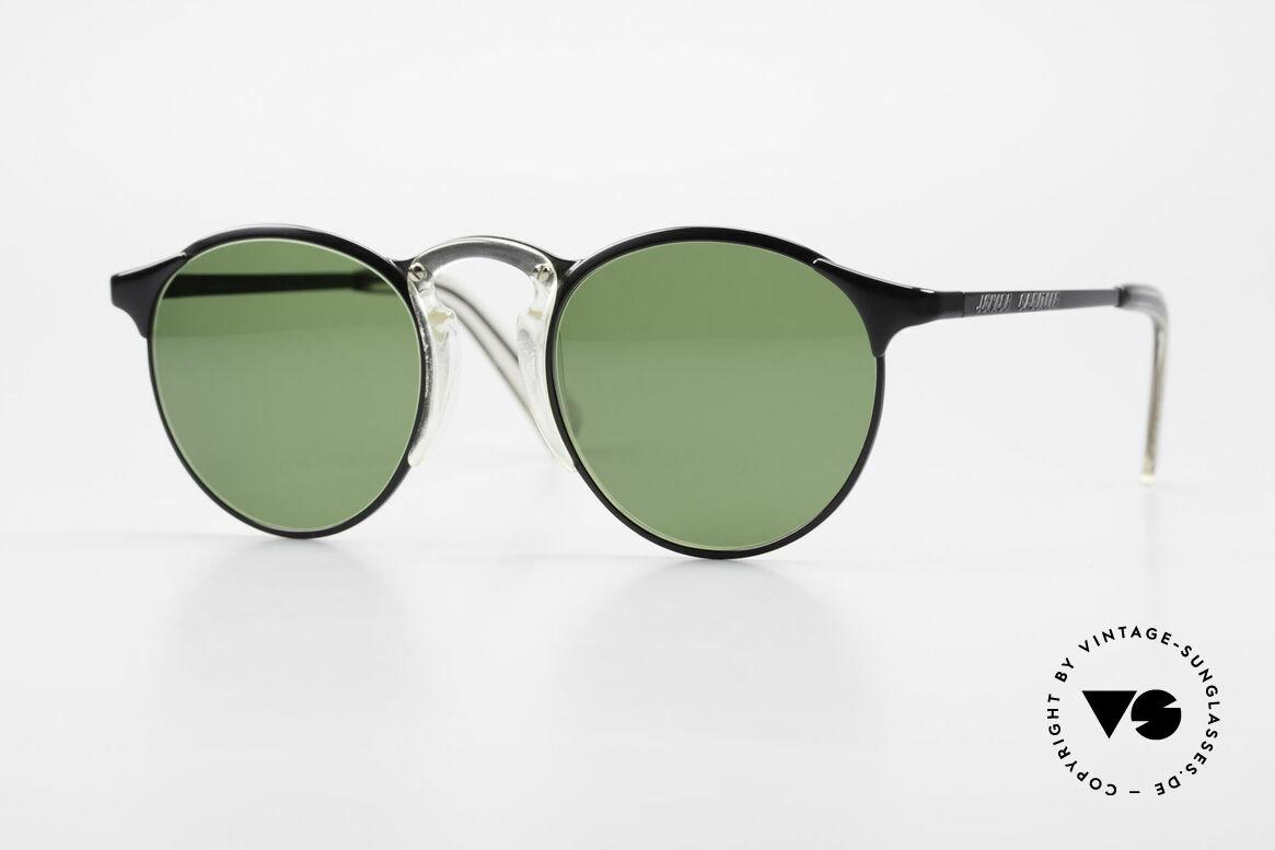 Jean Paul Gaultier 57-0174 Rare 90's JPG Panto Sunglasses, premium sunglasses of the Junior GAULTIER Series, Made for Men and Women