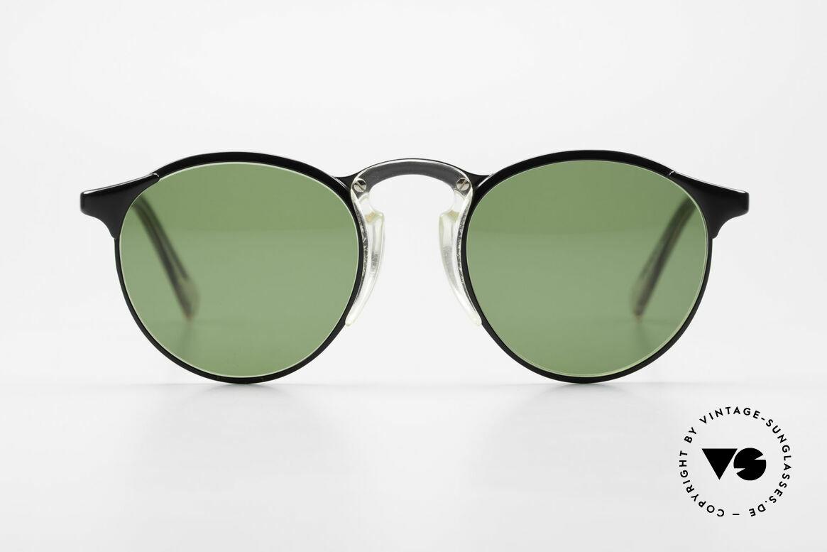 Jean Paul Gaultier 57-0174 Rare 90's JPG Panto Sunglasses, classic 'panto style' refined as unique designer piece, Made for Men and Women