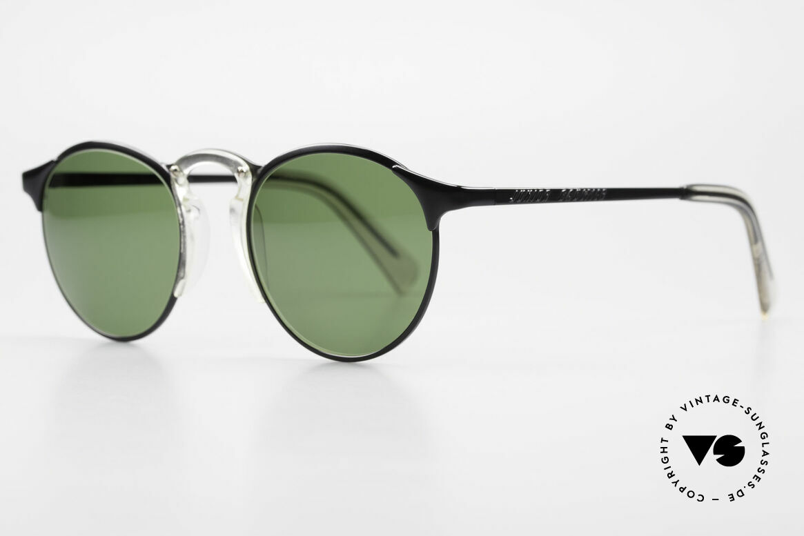Jean Paul Gaultier 57-0174 Rare 90's JPG Panto Sunglasses, outstanding craftsmanship (frame made in JAPAN), Made for Men and Women