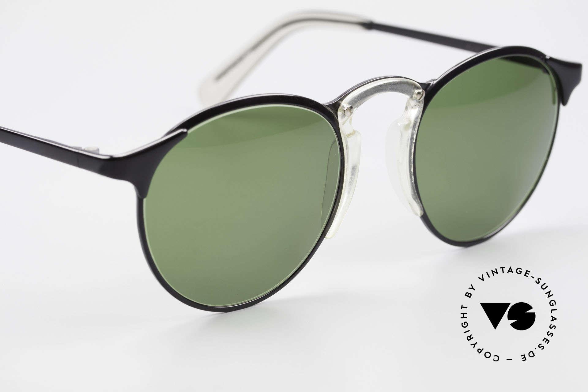 Jean Paul Gaultier 57-0174 Rare 90's JPG Panto Sunglasses, NO RETRO sunglasses, but an old original from 1997, Made for Men and Women