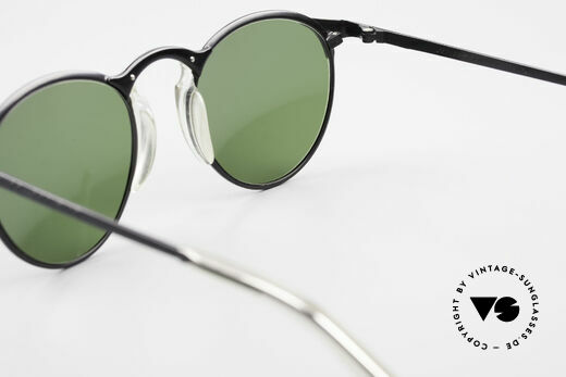 Jean Paul Gaultier 57-0174 Rare 90's JPG Panto Sunglasses, the frame (size 50-21) is made for lenses of any kind, Made for Men and Women