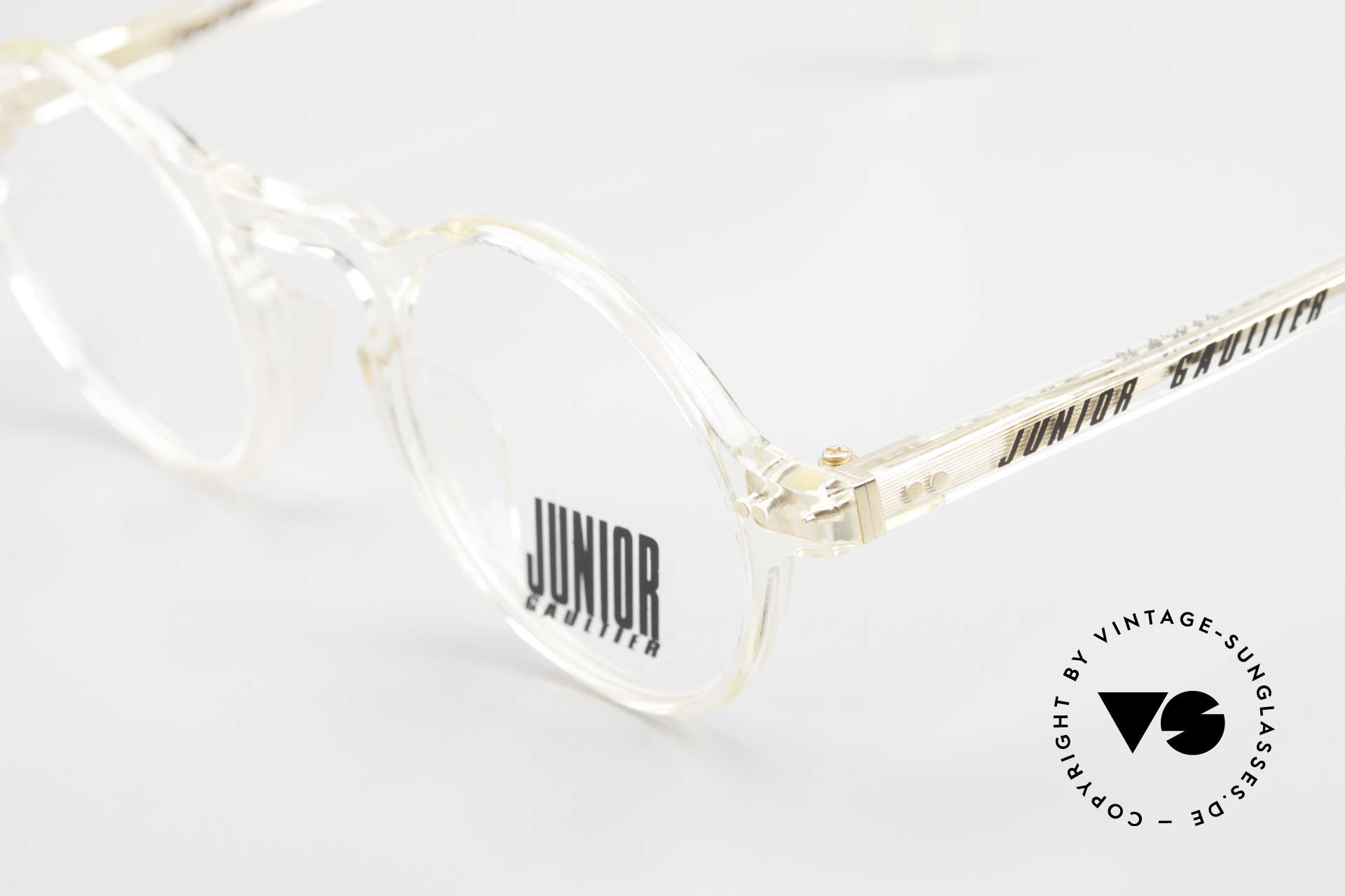 Jean Paul Gaultier 57-0072 90's Vintage Designer Frame, unworn (like all our old Gaultier designer glasses), Made for Men and Women