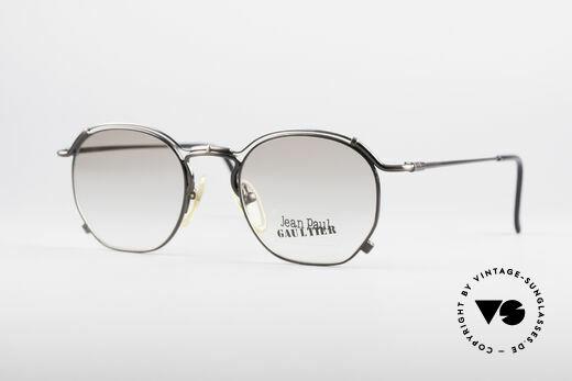 Jean Paul Gaultier 55-2171 90's Vintage JPG Frame Details
