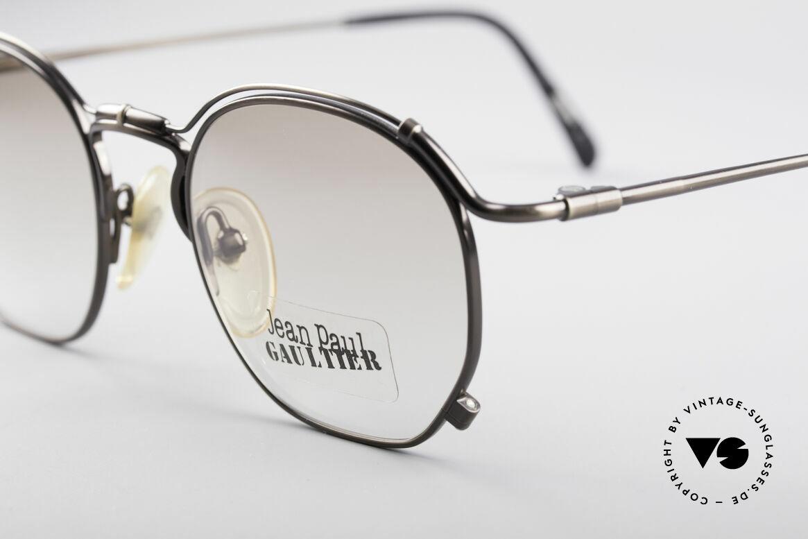 Jean Paul Gaultier 55-2171 90's Vintage JPG Frame, unworn (like all our old 1990's designer sunglasses), Made for Men and Women