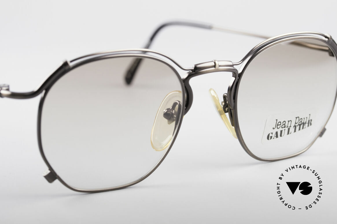 Jean Paul Gaultier 55-2171 90's Vintage JPG Frame, NO RETRO SUNGLASSES, but a 20 years old rarity, Made for Men and Women